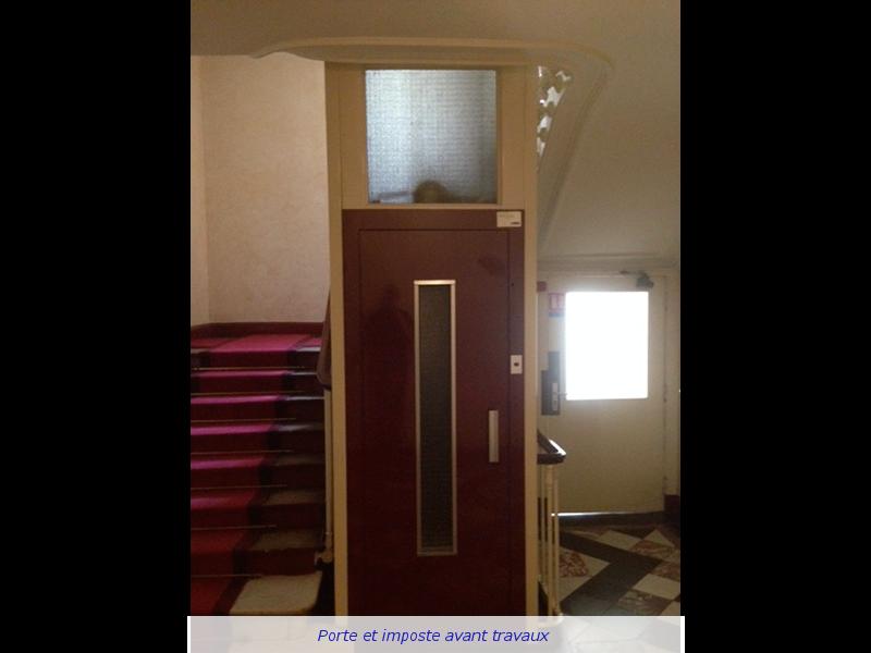 Remplacement de portes palières
