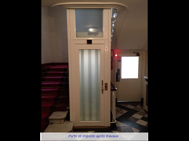 Remplacement De Portes Palières Eiffel Ascenseurs - Portes palières