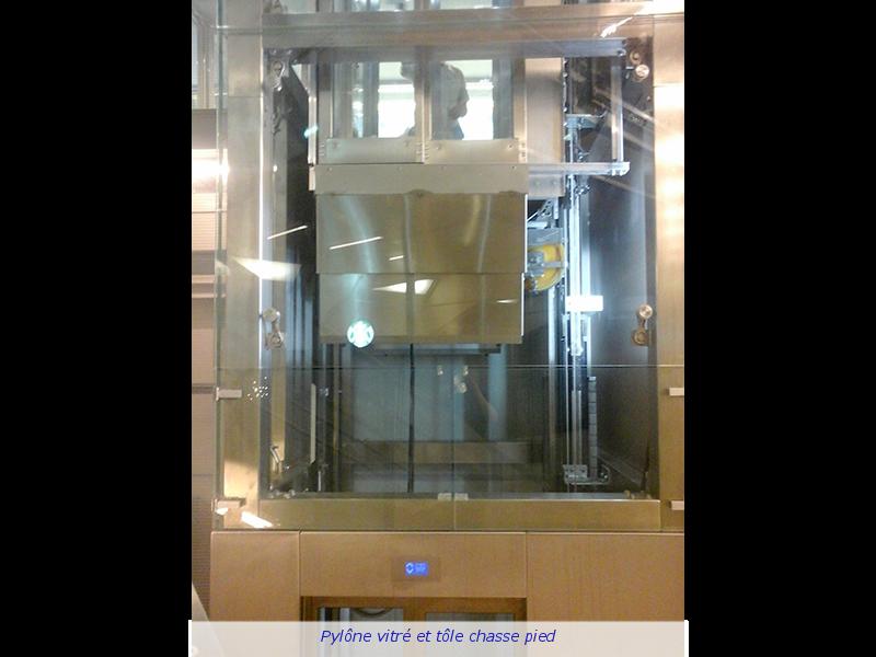 Ascenseur sans local machinerie
