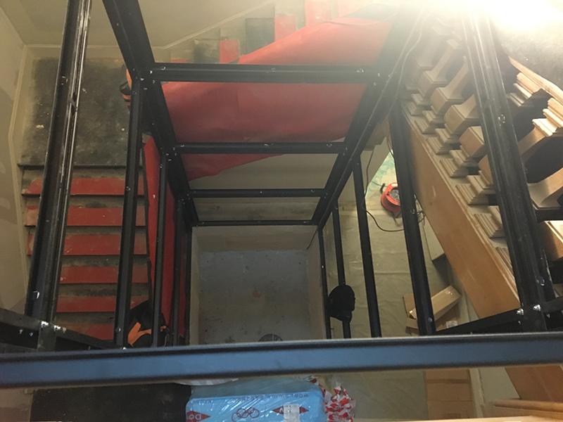 ascenseur 480 kg vitré